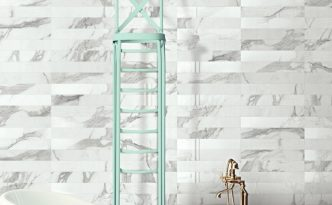 Marstood Marble 01 4x24 Mix Porcelain Tile from Italy by Ceramica Magica